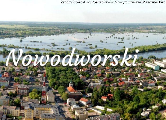 Powiat Nowy Dwór Maz.: Podziękowanie za punkty szczepień
