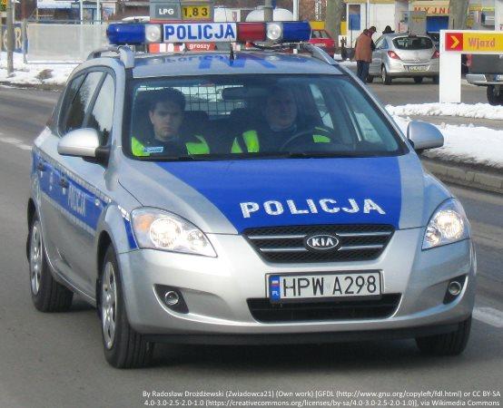 Policja Nowy Dwór Maz.: Uroczyste wprowadzenie zastępców komendanta stołecznego