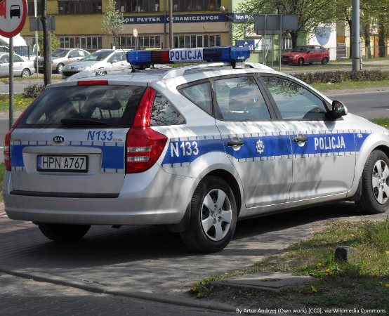 Policja Nowy Dwór Maz.: Nie zatrzymał się do kontroli drogowej